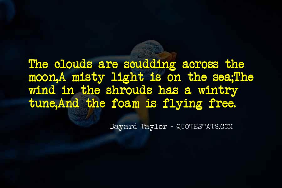 Flying Over Clouds Quotes #36748