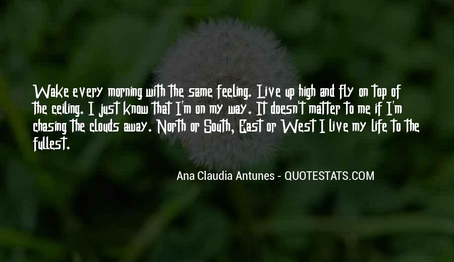 Flying Over Clouds Quotes #768141