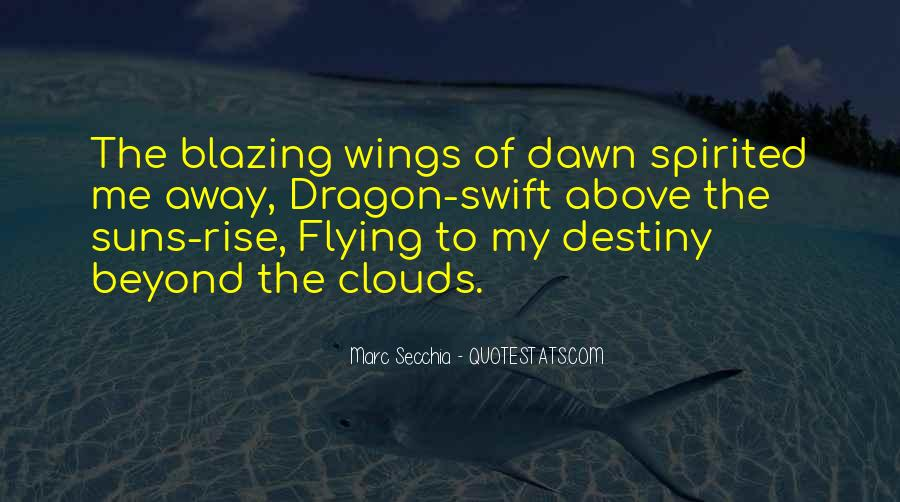 Flying Over Clouds Quotes #793364