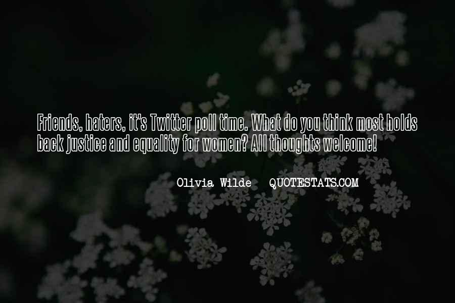 Quotes About Haters Twitter #1574810