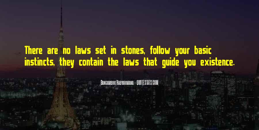 Follow The Law Quotes #1210579