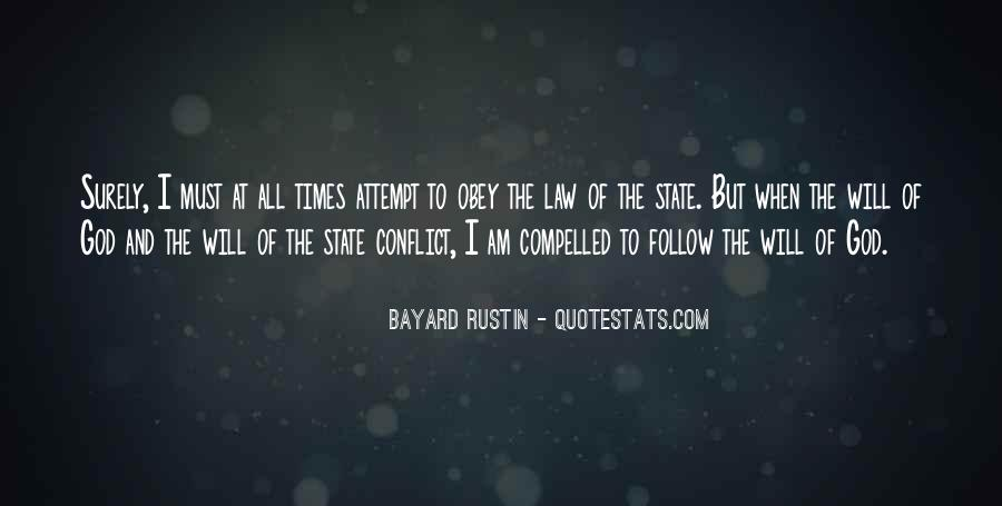 Follow The Law Quotes #17892