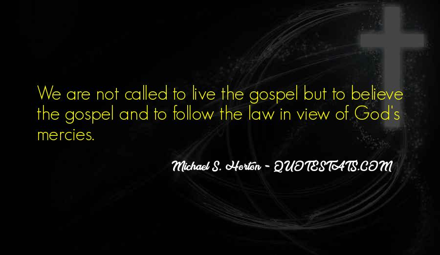 Follow The Law Quotes #274421