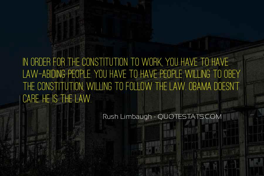 Follow The Law Quotes #498201