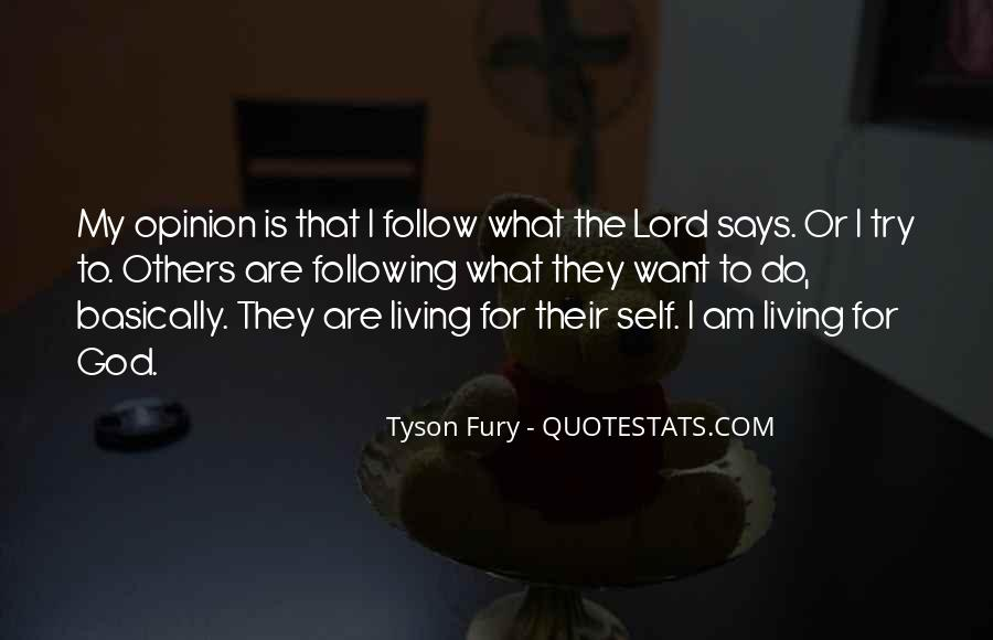Follow The Lord Quotes #1058433