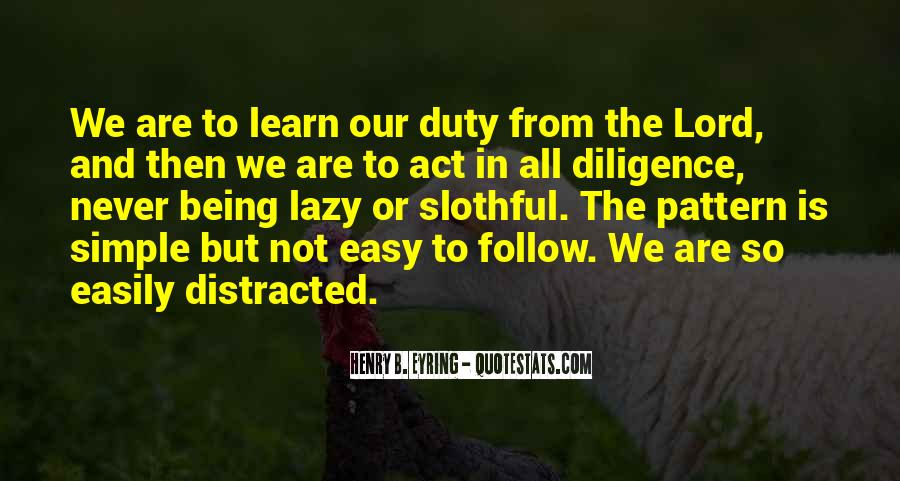 Follow The Lord Quotes #1103038