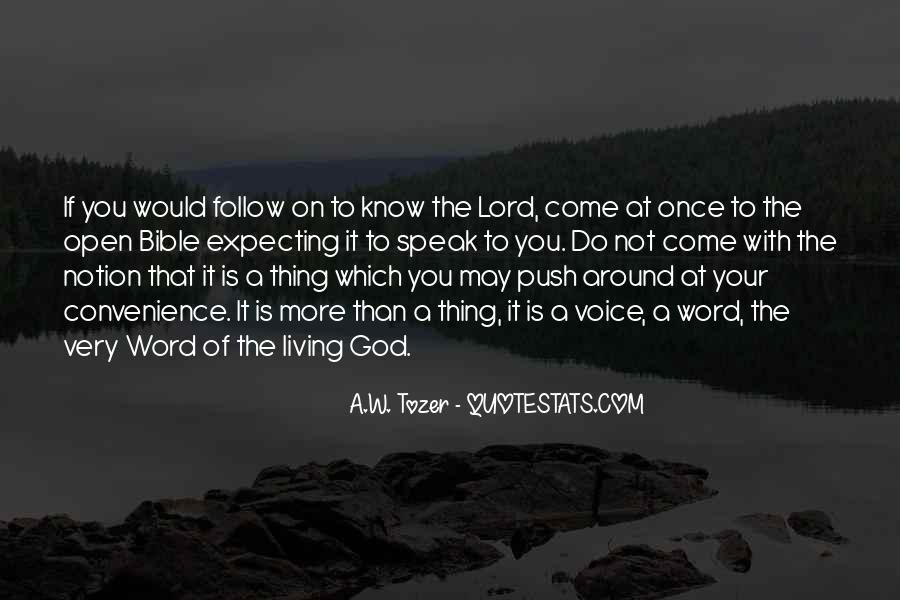 Follow The Lord Quotes #1193481