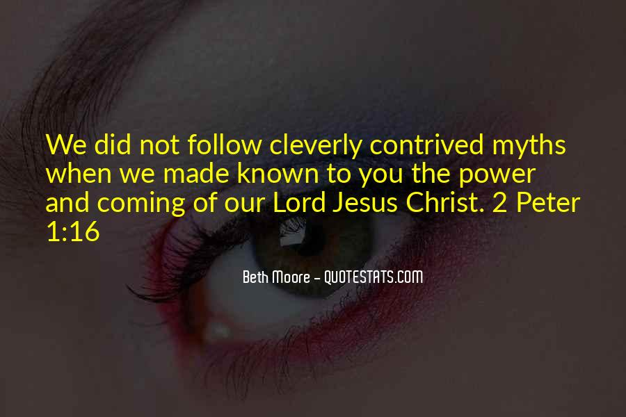 Follow The Lord Quotes #1313380