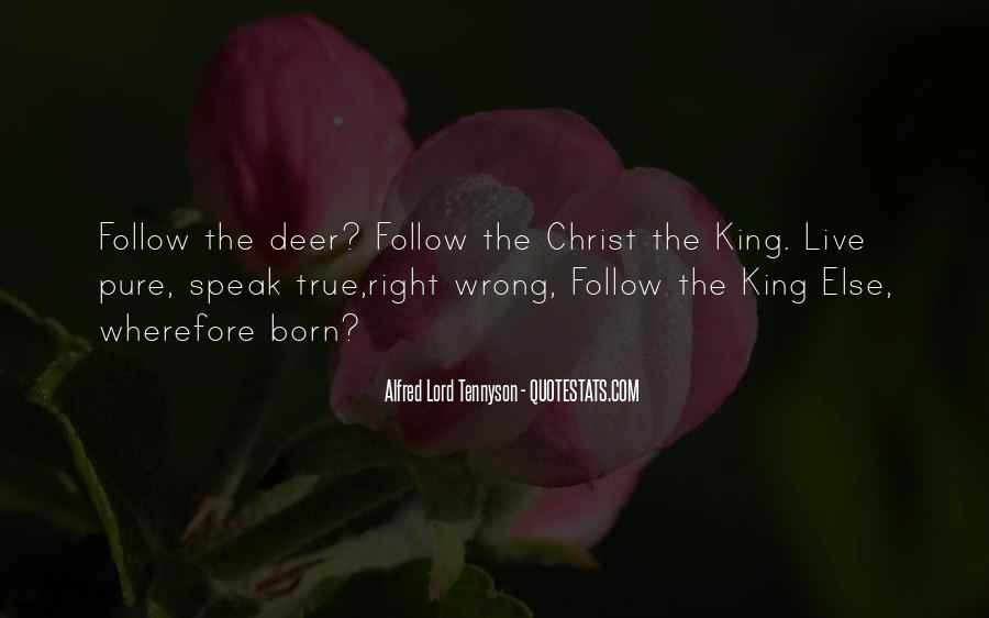 Follow The Lord Quotes #1423707