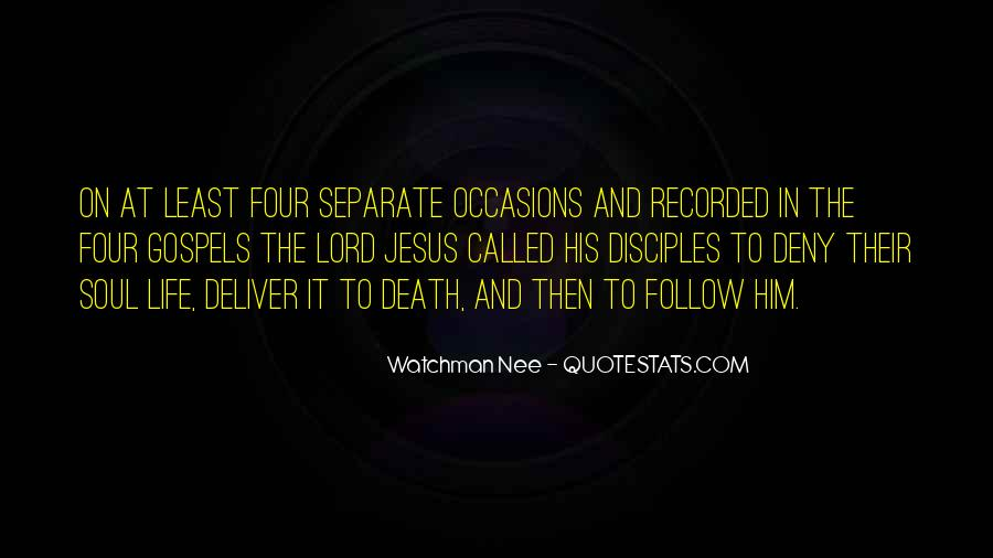 Follow The Lord Quotes #1676708