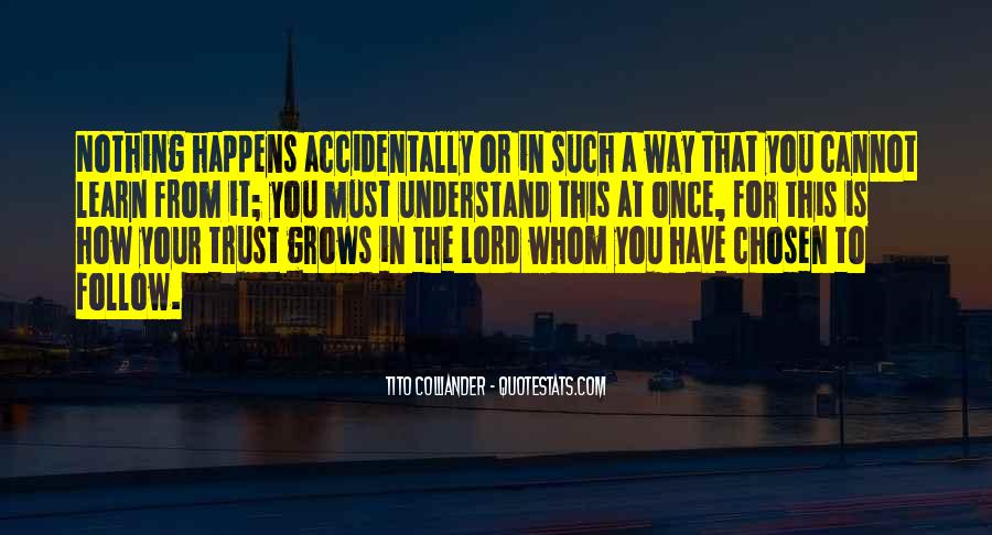 Follow The Lord Quotes #470834