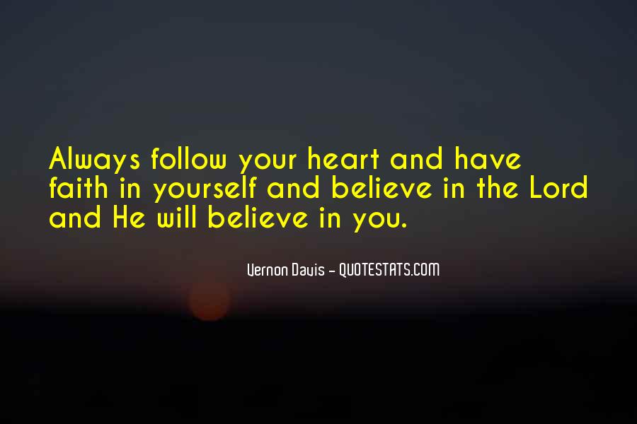 Follow The Lord Quotes #576114