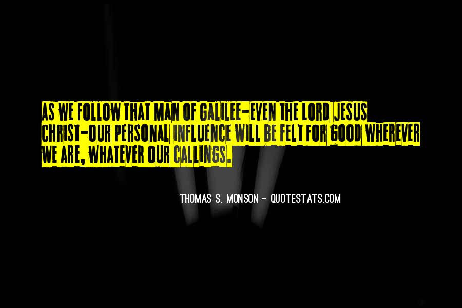 Follow The Lord Quotes #917258