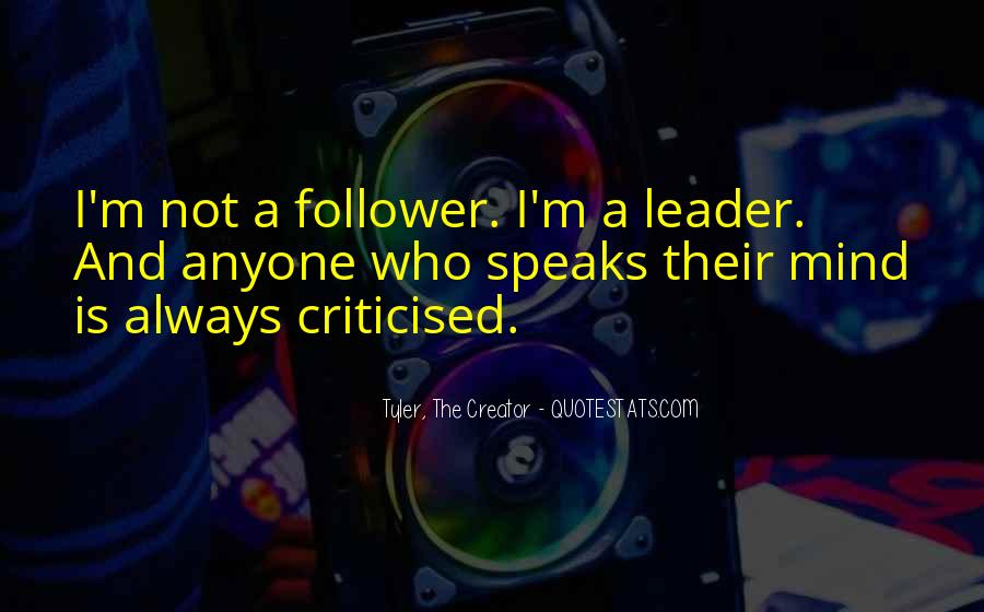 Follower Quotes #539311