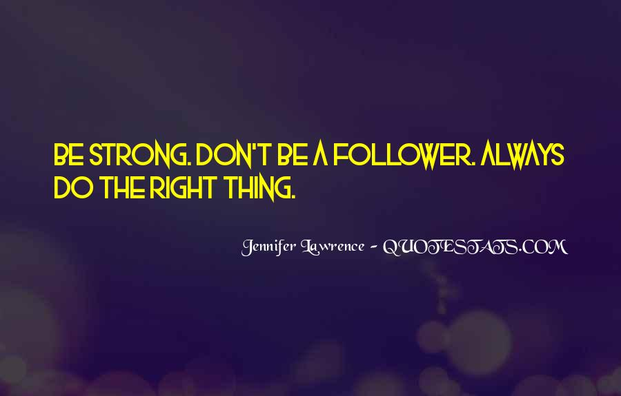 Follower Quotes #614117