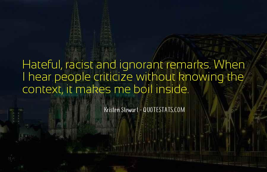 Quotes About Hateful People #1369784