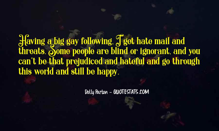 Quotes About Hateful People #1387456
