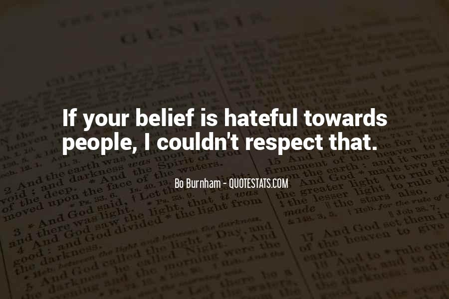 Quotes About Hateful People #1600839