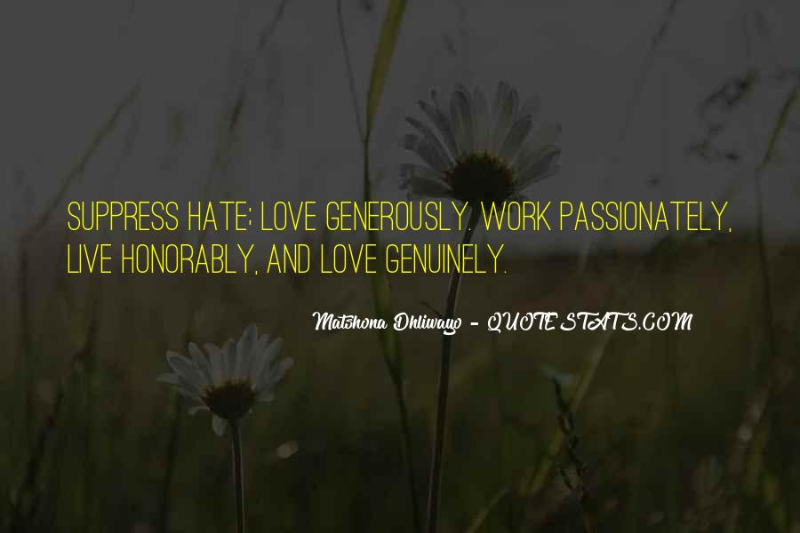 Quotes About Hate Work #265138