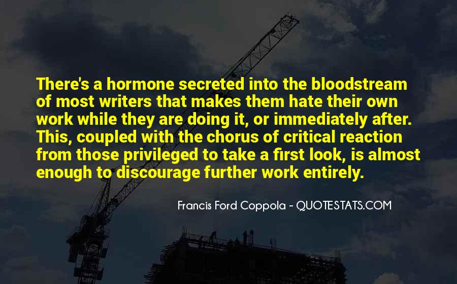 Quotes About Hate Work #365134