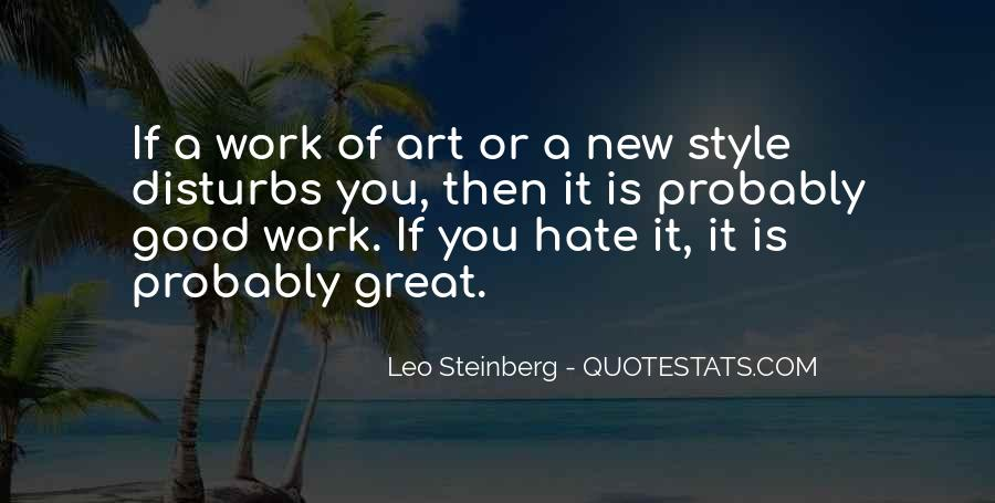 Quotes About Hate Work #444733