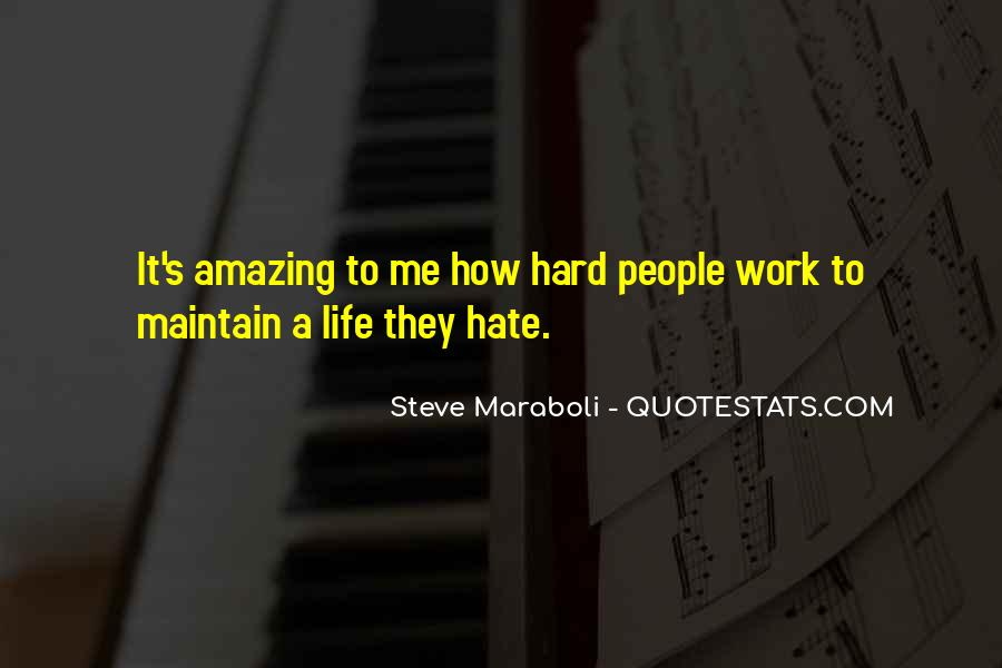 Quotes About Hate Work #51830