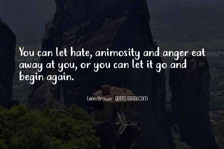 Quotes About Hate And Anger #1660423