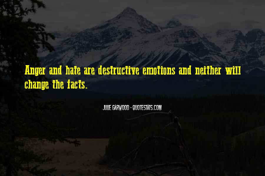 Quotes About Hate And Anger #22994
