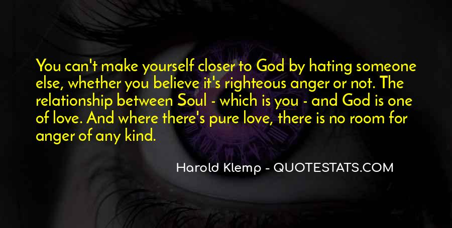 Quotes About Hate And Anger #285880