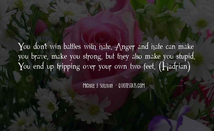 Quotes About Hate And Anger #360123