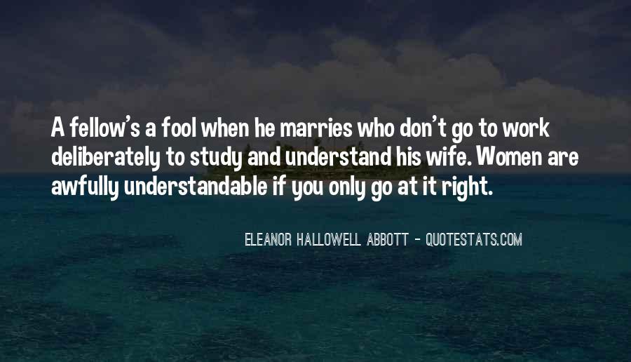 Fool Me No More Quotes #12874