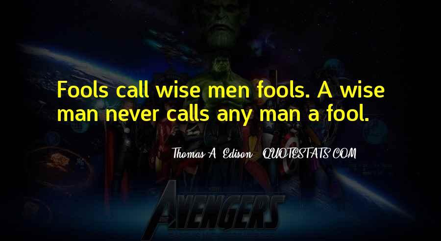 Fool Me No More Quotes #14135