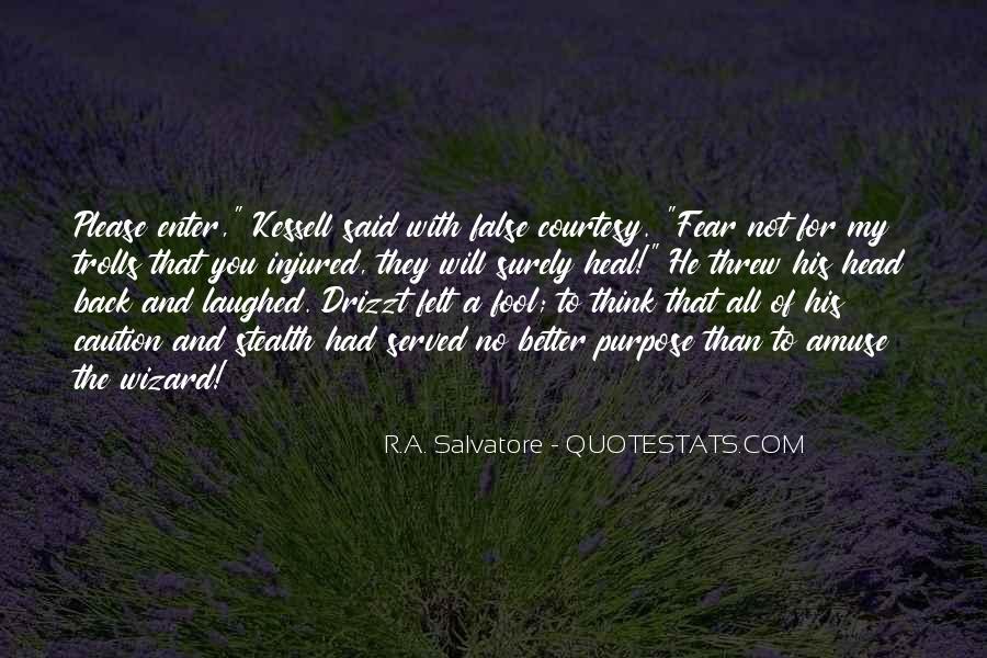 Fool Me No More Quotes #16908