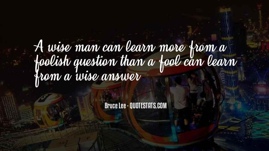 Fool Me No More Quotes #21680
