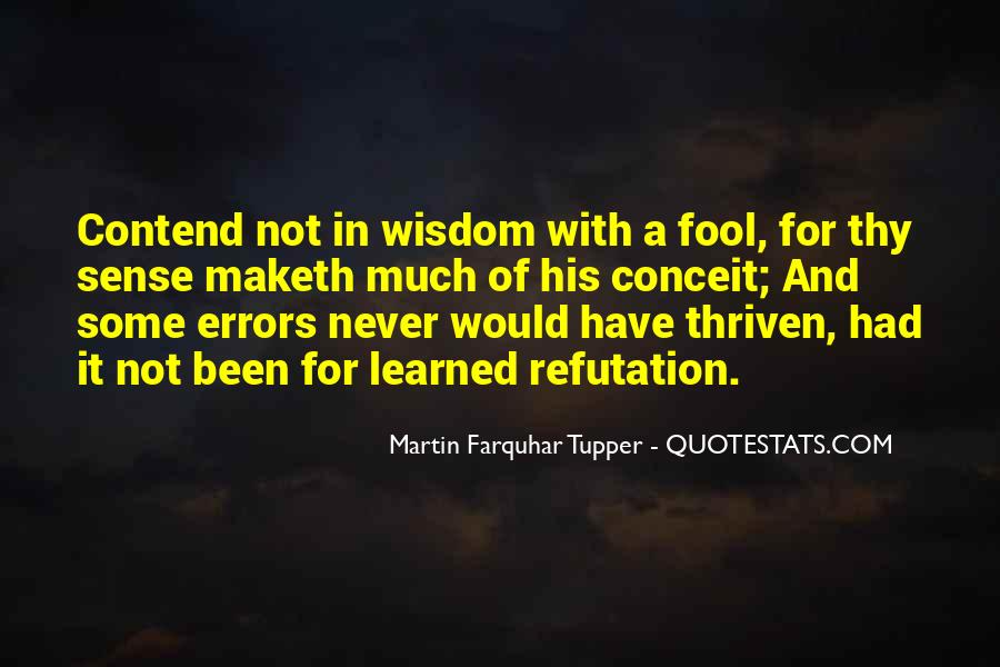 Fool Me No More Quotes #25701