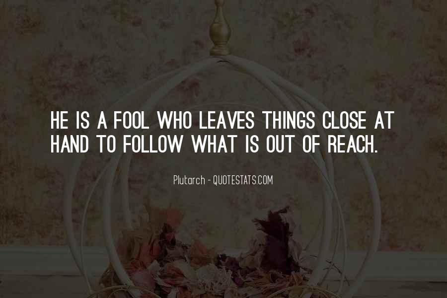 Fool Me No More Quotes #39256