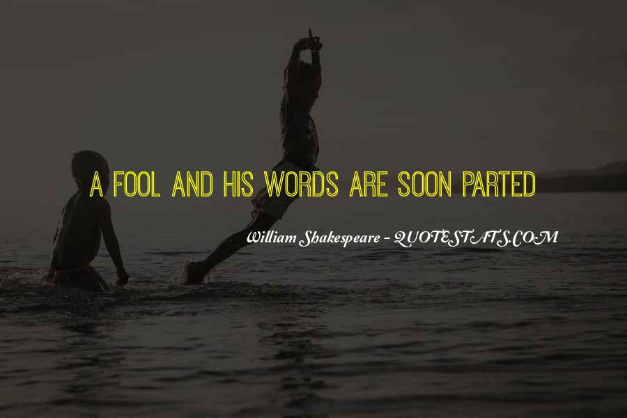 Fool Me No More Quotes #4131