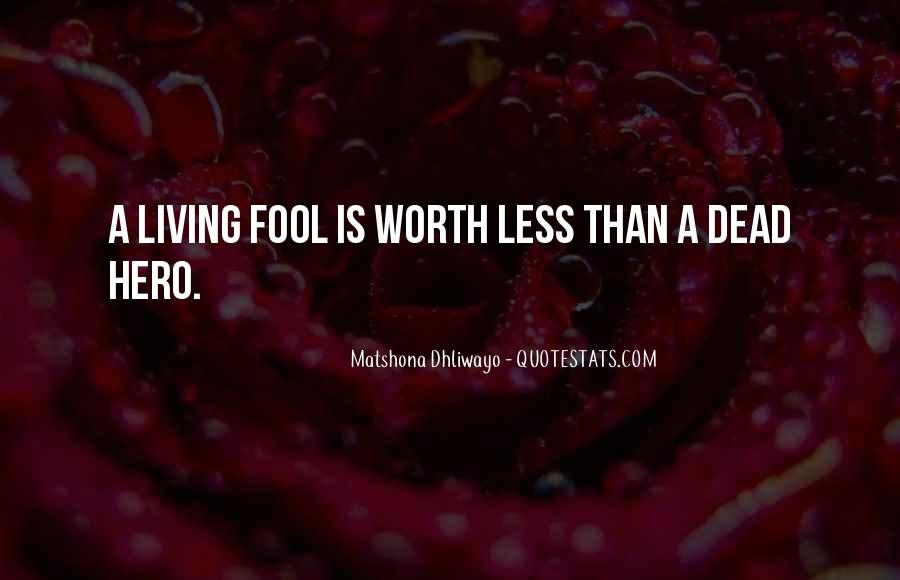 Fool Me No More Quotes #842