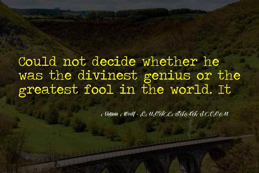 Fool Me No More Quotes #929