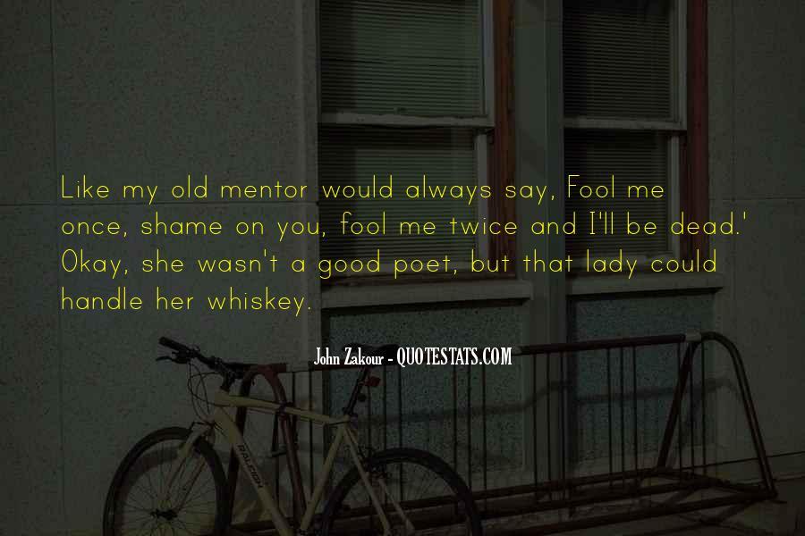 Fool Me Twice Quotes #1350799