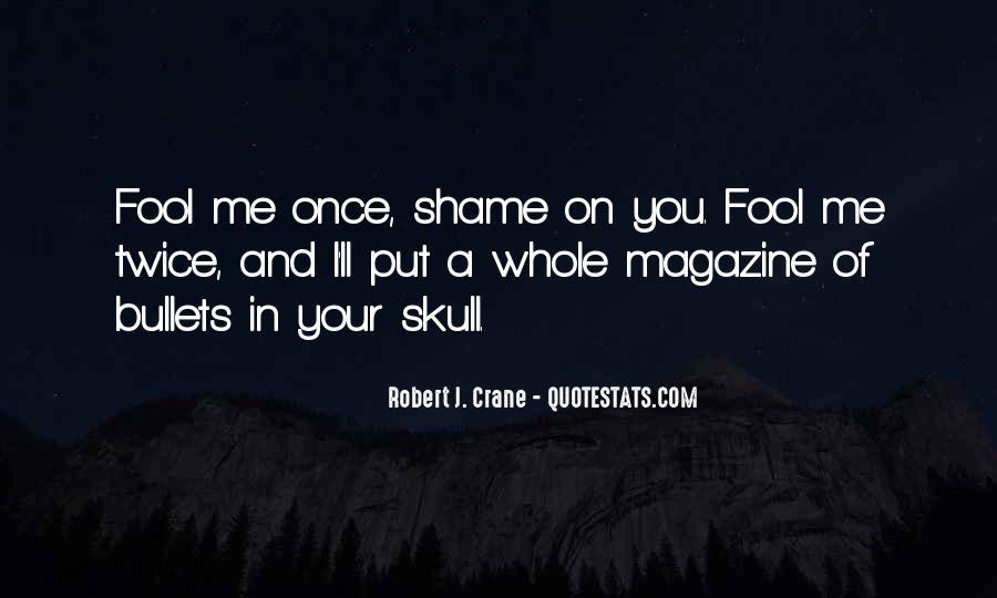 Fool Me Twice Quotes #1461962