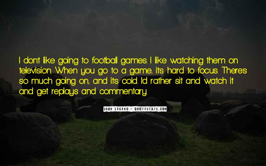 Football Commentary Quotes #417955
