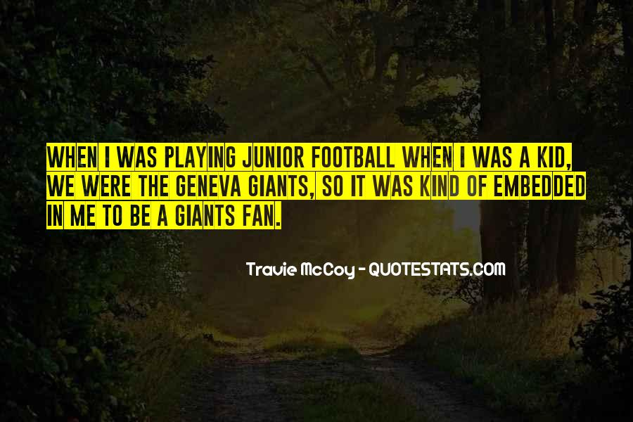 Football Giants Quotes #959191