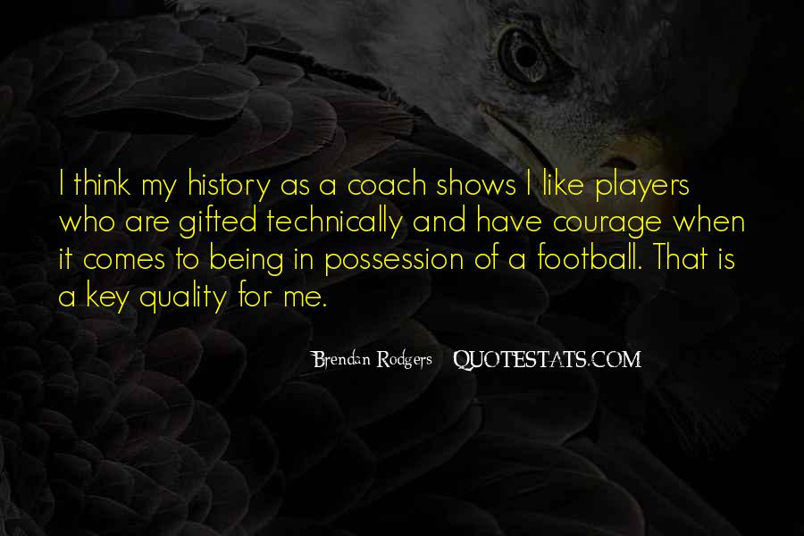 Football Possession Quotes #1529946