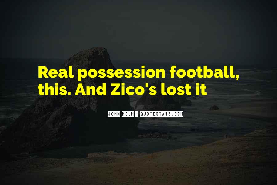 Football Possession Quotes #348508