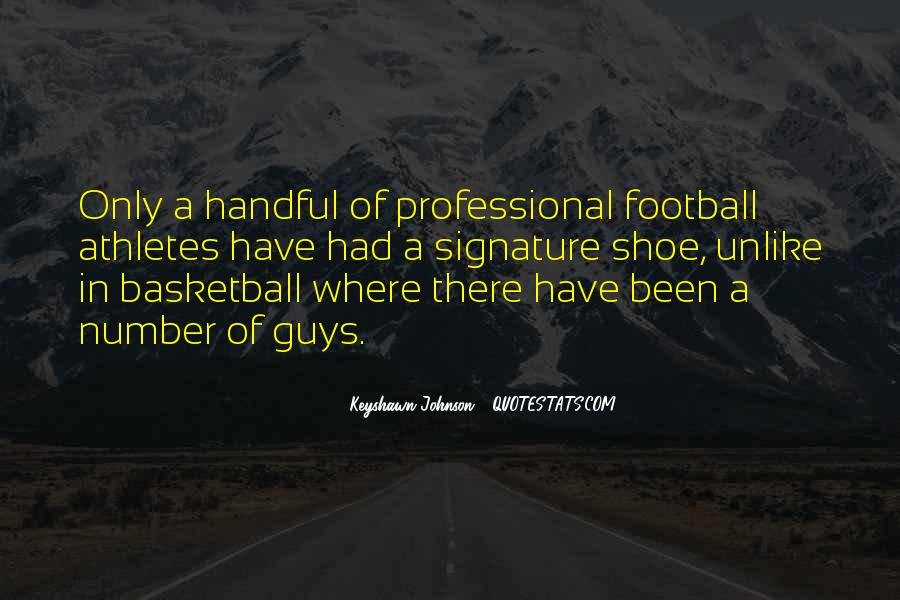 Football Shoe Quotes #1858448