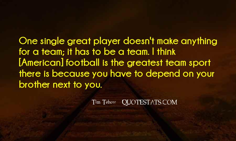 Football's Greatest Quotes #18889