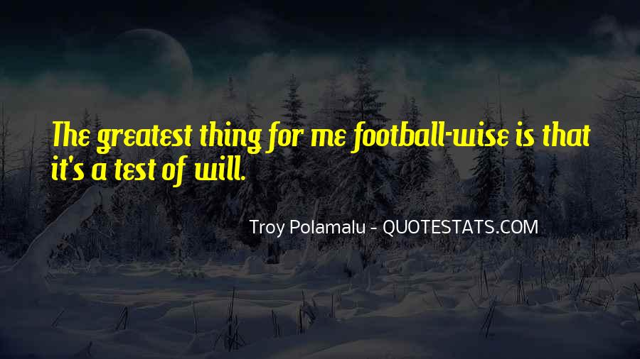 Football's Greatest Quotes #262589