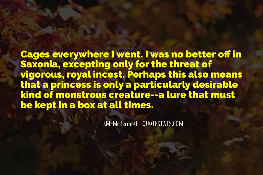 For A Princess Quotes #1145563