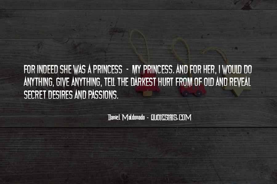 For A Princess Quotes #327974
